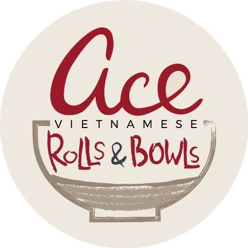 ACE - Vietnamese Rolls and Bowls logo