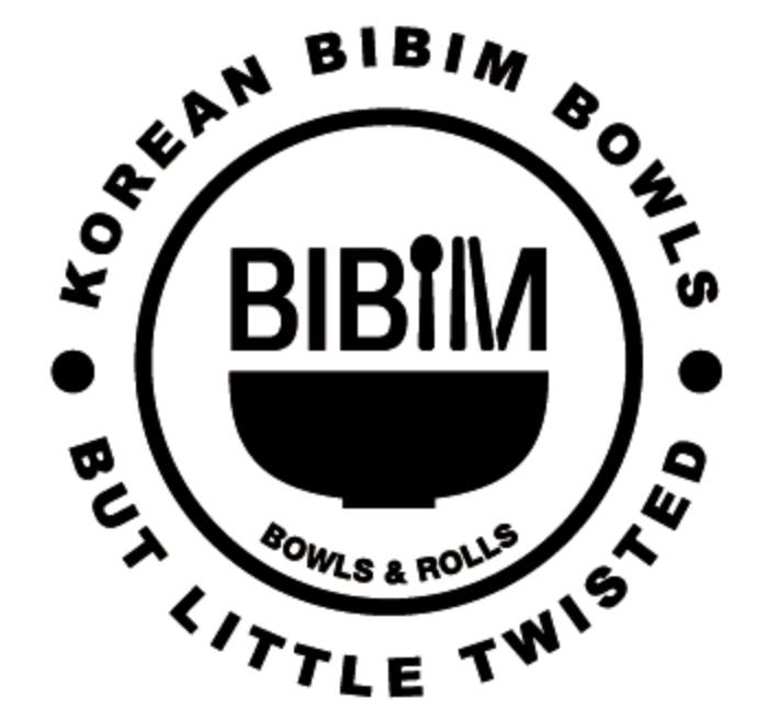 Bibim Bowls and Rolls logo