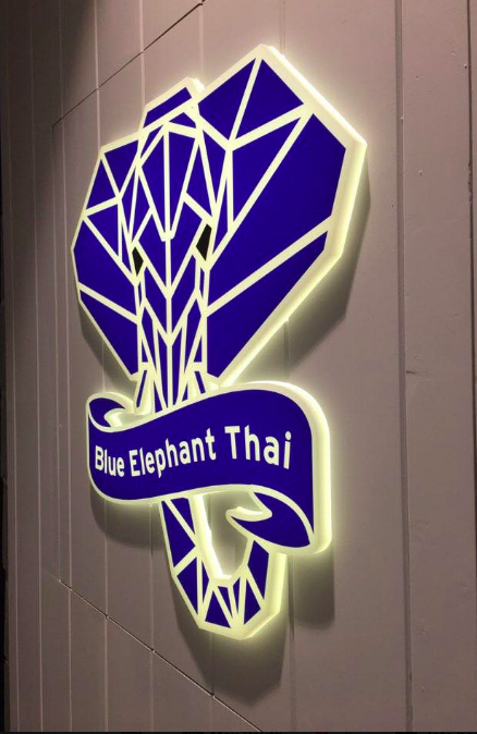 Blue Elephant Thai logo