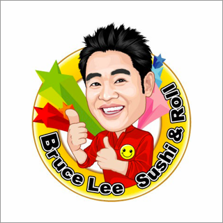 Bruce Lee Sushi and Roll logo