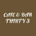 Cafe&Bar Thirty3 logo