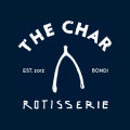 The Char Rotisserie logo