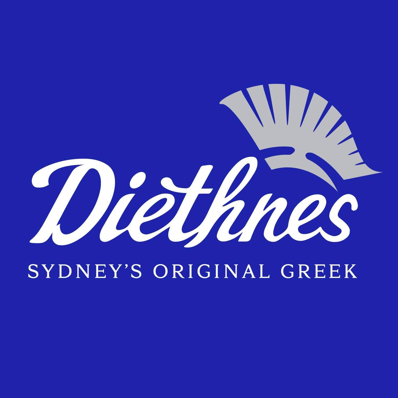 Diethnes Greek Restaurant  logo
