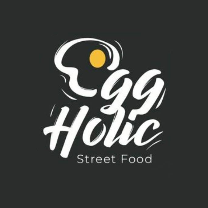 Eggholic Street Food  logo