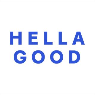 Hella Good logo