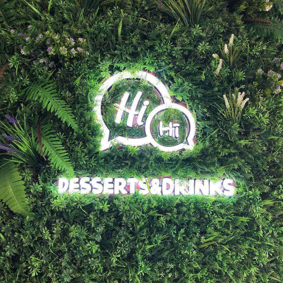 Hihi Desserts and Drinks logo