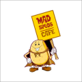 Mad Spuds Cafe logo
