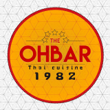 The Ohbar Thai Cuisine 1982 logo