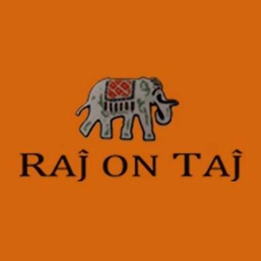 Raj on Taj logo