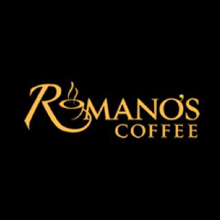 Romanos Coffee logo