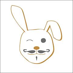 The Rusty Rabbit logo