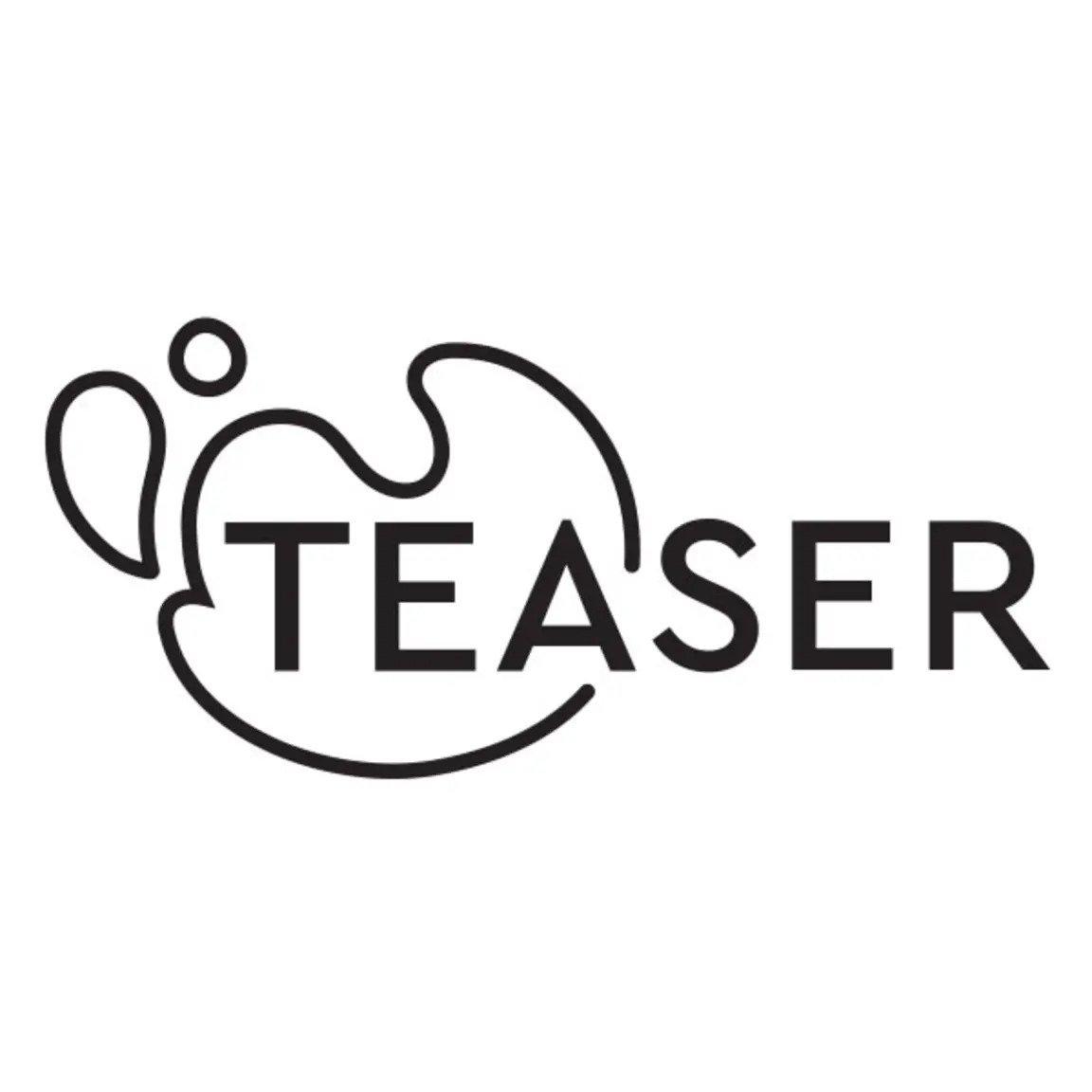 Teaser Black logo